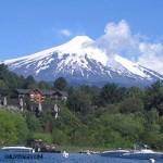Le volcan Villarrica, entre feu et glace