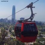 La télécabine de Santiago offre un nouveau point de vue