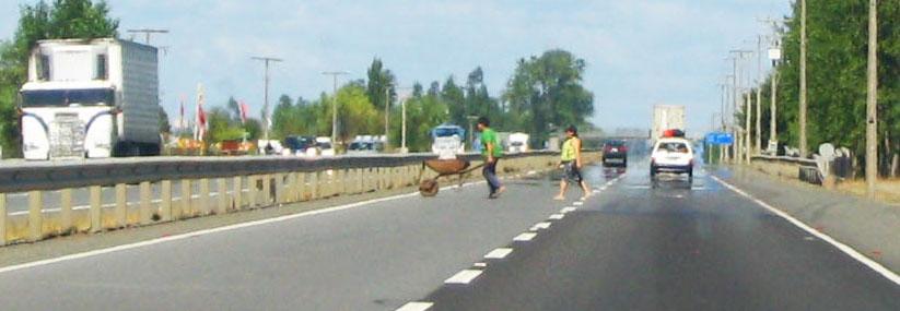 danger autoroute