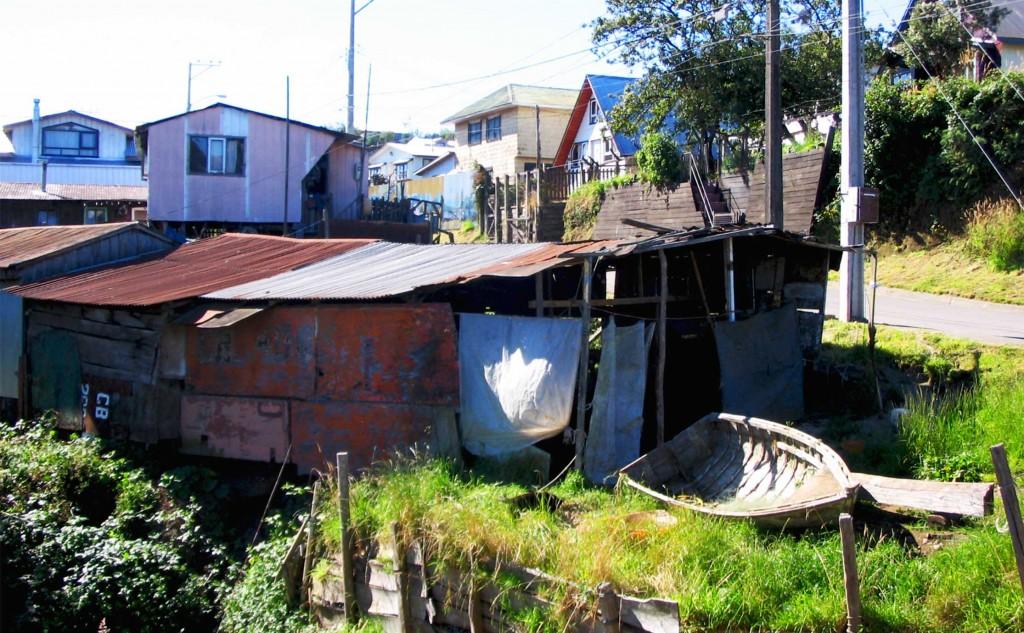 maison de pêcheur chiloe