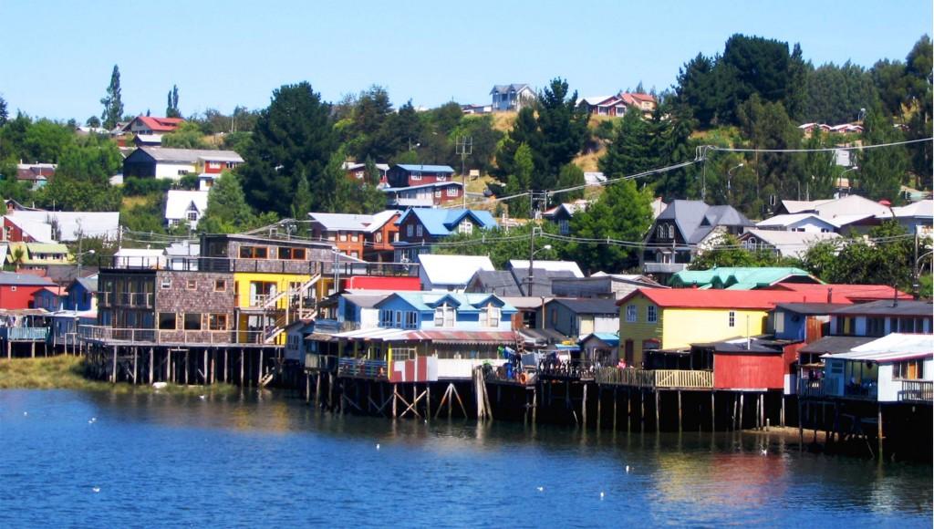 maison sur pilotis de Chiloe