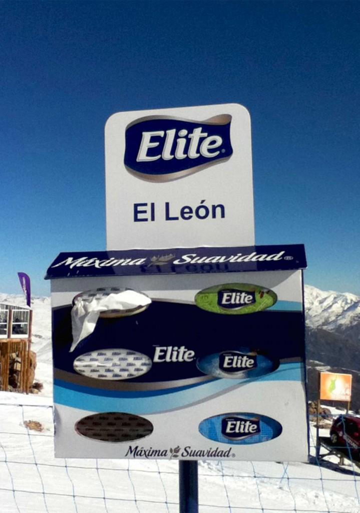 skier l'été au Chili