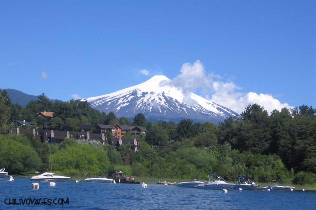 pucón volcans lac Villarica