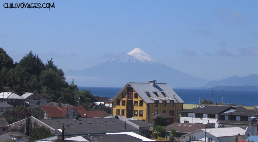 Puerto Varas volcans