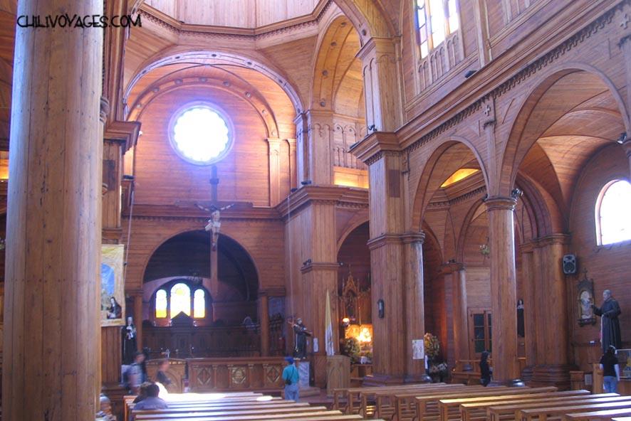 ile de chiloe cathédrale de castro