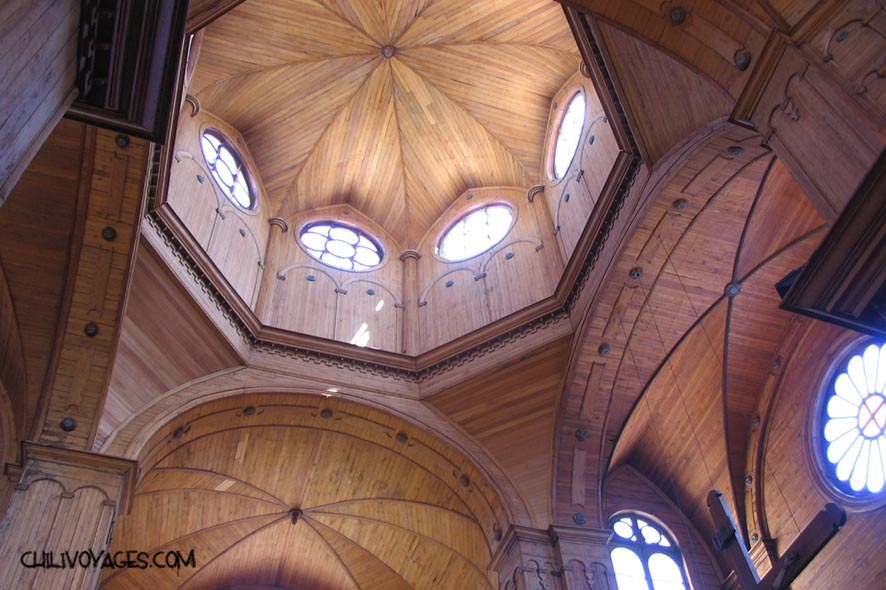 cathédrale en bois Chili