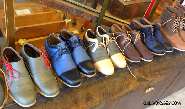artisanat chaussures
