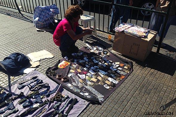 marché artisanal de santiago