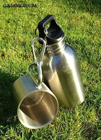 matériel de camping thermos