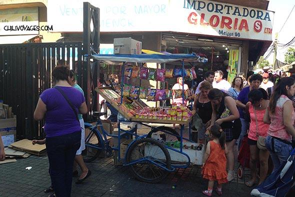 marché à Santiago
