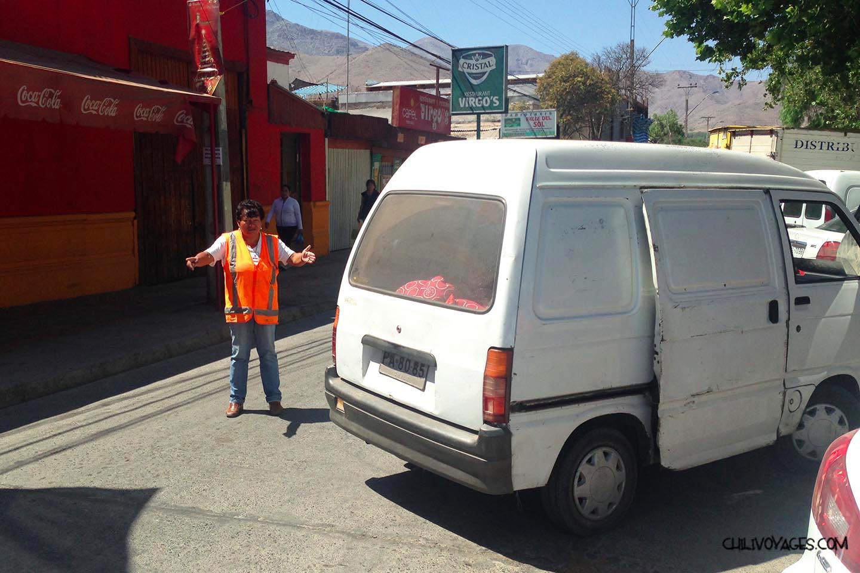 stationner au Chili