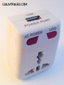 adaptateur prise electrique