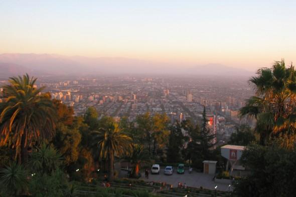 Panorama depuis la vierge