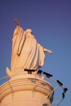 Statut vierge Santiago