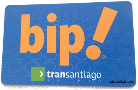 Carte transport Santiago