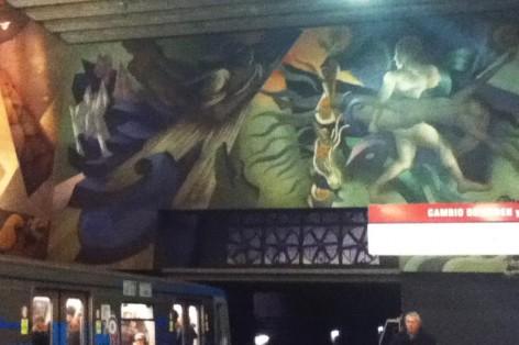 stations métro de Santiago