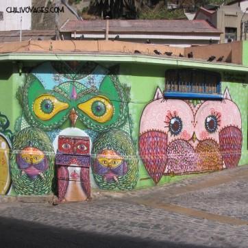 Valparaiso peinture