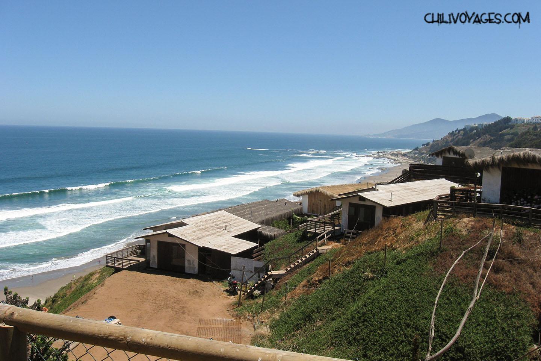 plages du chili  oc u00e9an et surf   vir u00e9e  u00e0 maitencillo et