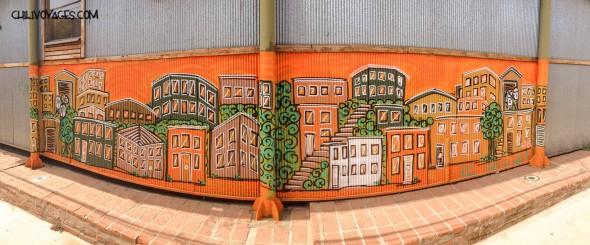 Street art vaparaiso