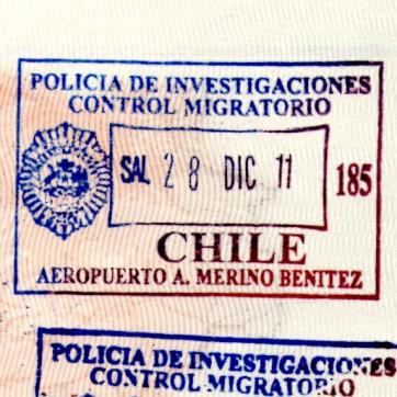 visa chili