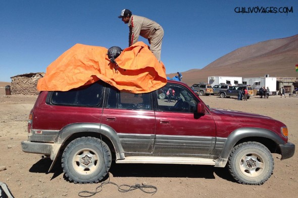 véhicule Bolivie