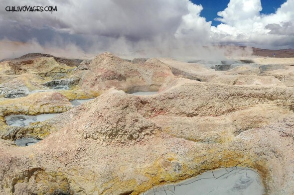 Solfatares Bolivie