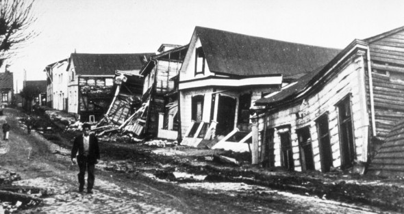 Tremblement de terre Valdivia Chili 1960