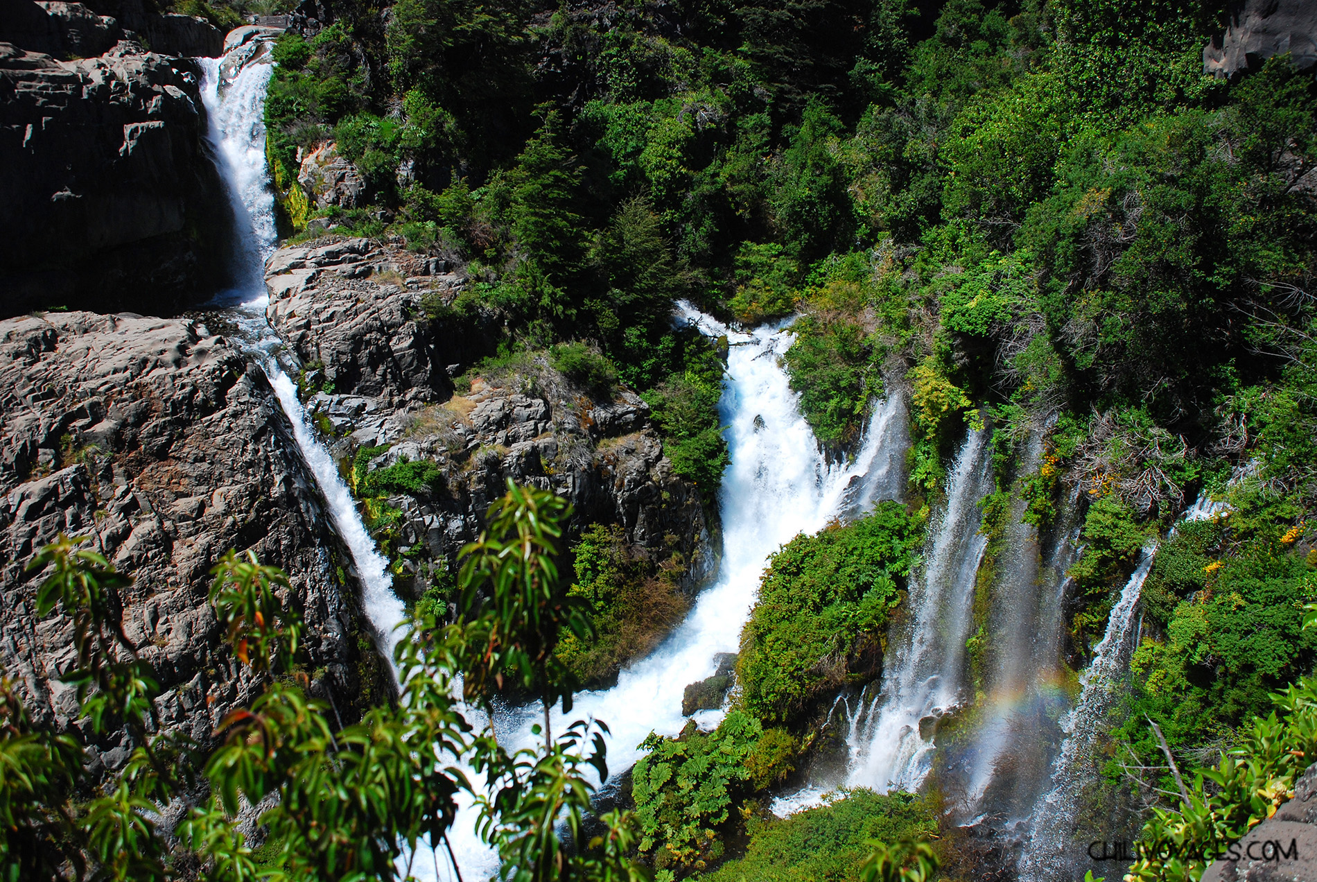 Cascade parc laguna del Laja