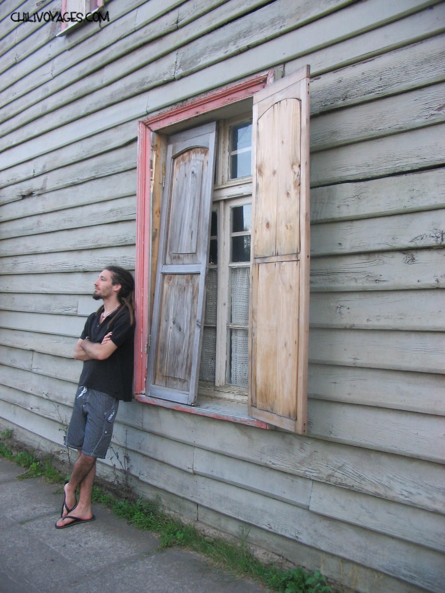 Fenêtre bois Contulmo