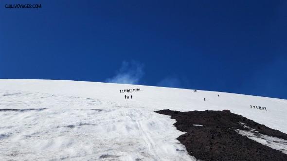 ascencion volcan Villarrica