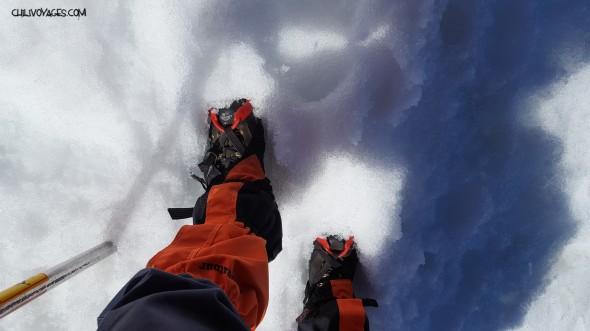 crampons neige