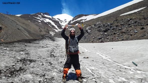 montée volcan villarrica