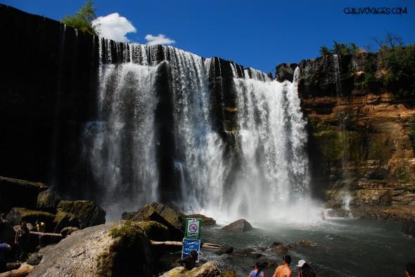 chutes d'eau Saltos del laja