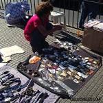 Marché Artisanal de Santiago et la Populaire rue Meiggs